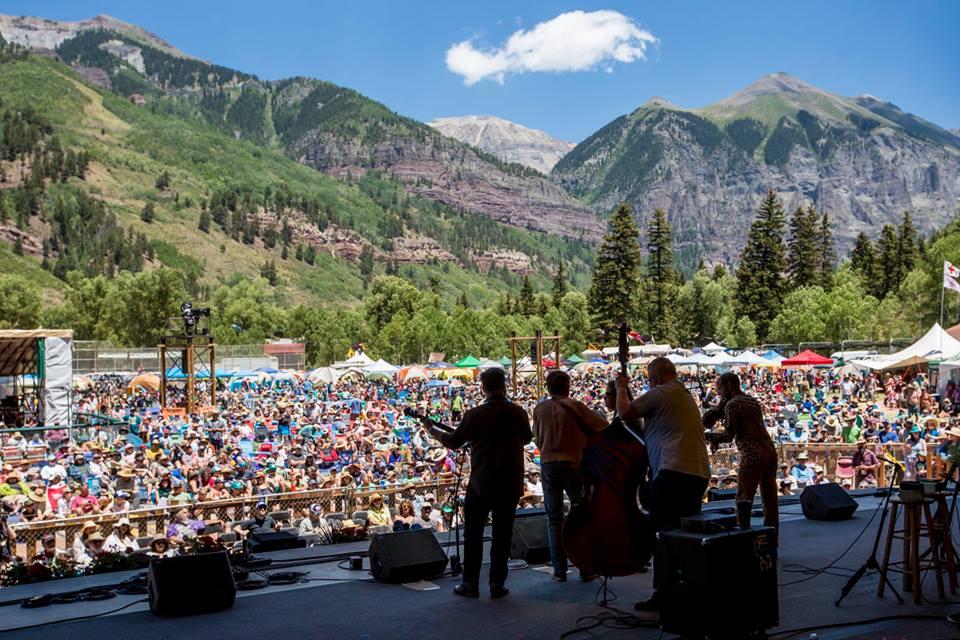 Telluride Bluegrass Festival in Colorado
