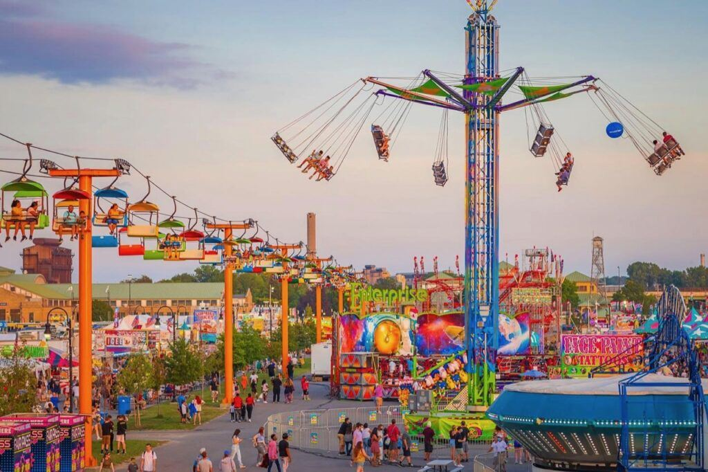 The Great New York State Fair ground and park