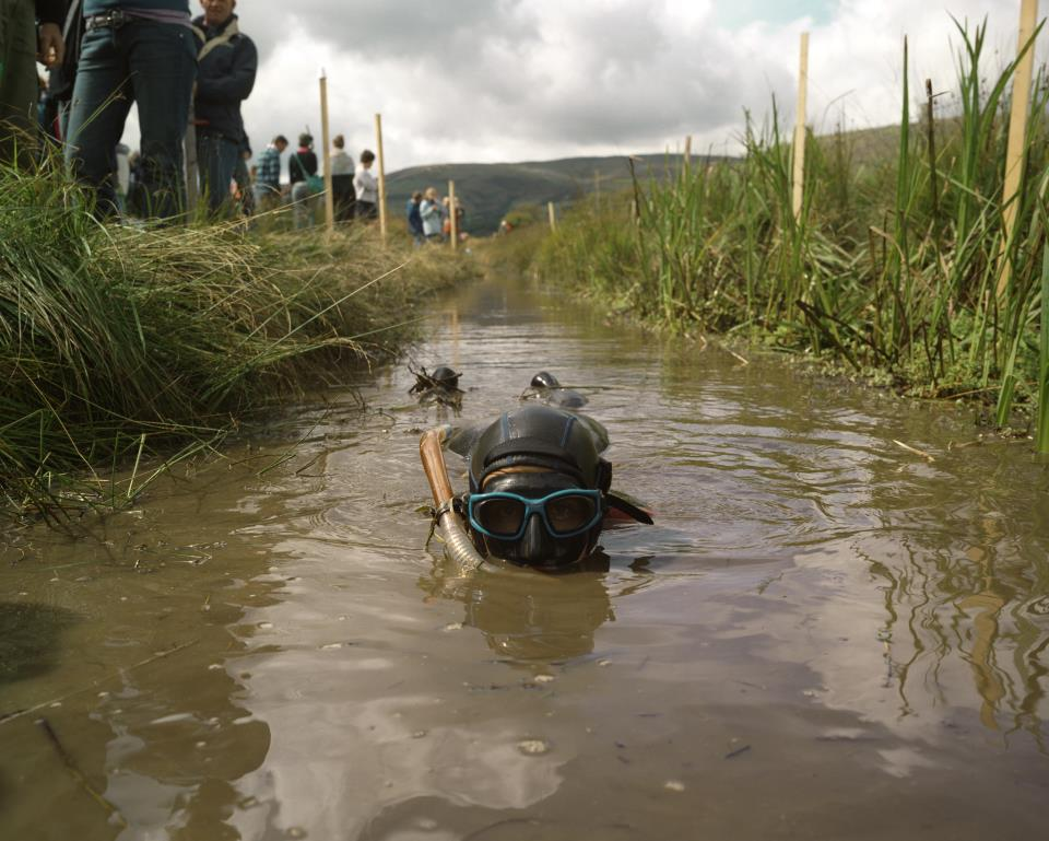 World Bog Snorkelling championships Strangest Traditions in Wales