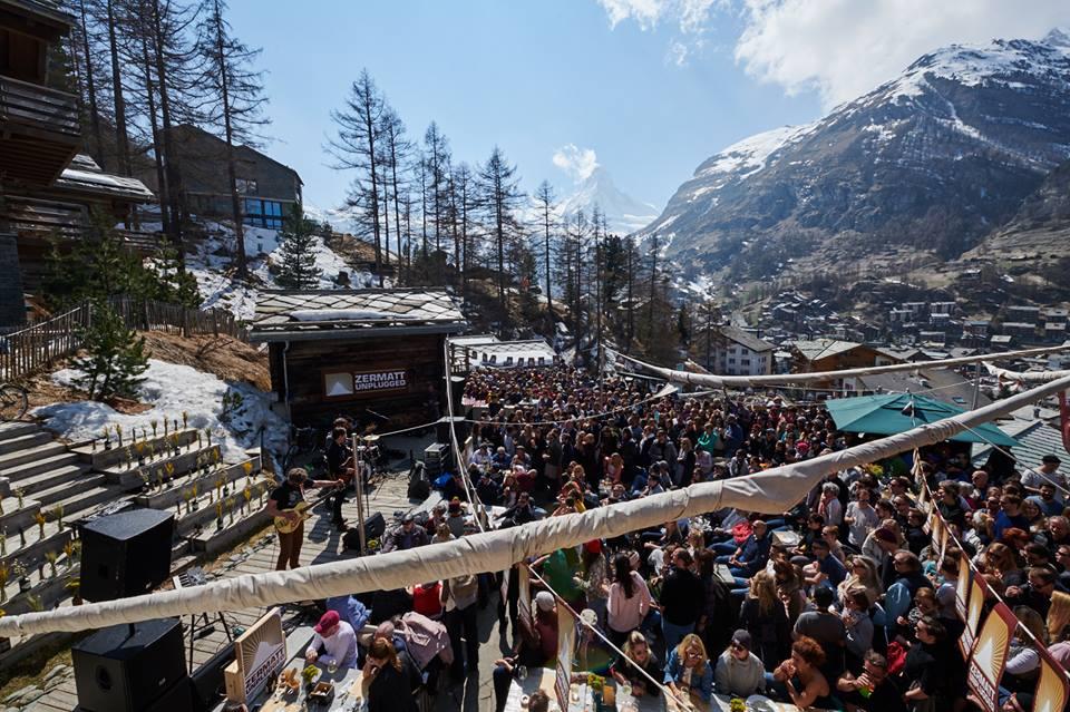 Zermatt Unplugged mountain festivals in Switzerland