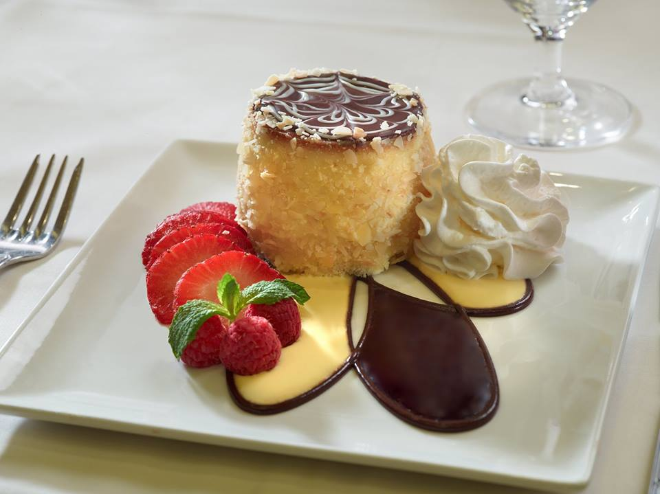 Boston Cream Pie at Omni Parker House, Boston