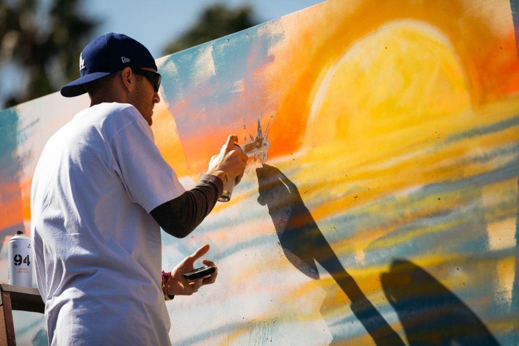 Graffiti at Ohana Festival