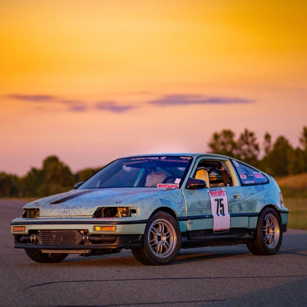Sunset at Gridlife Midwest