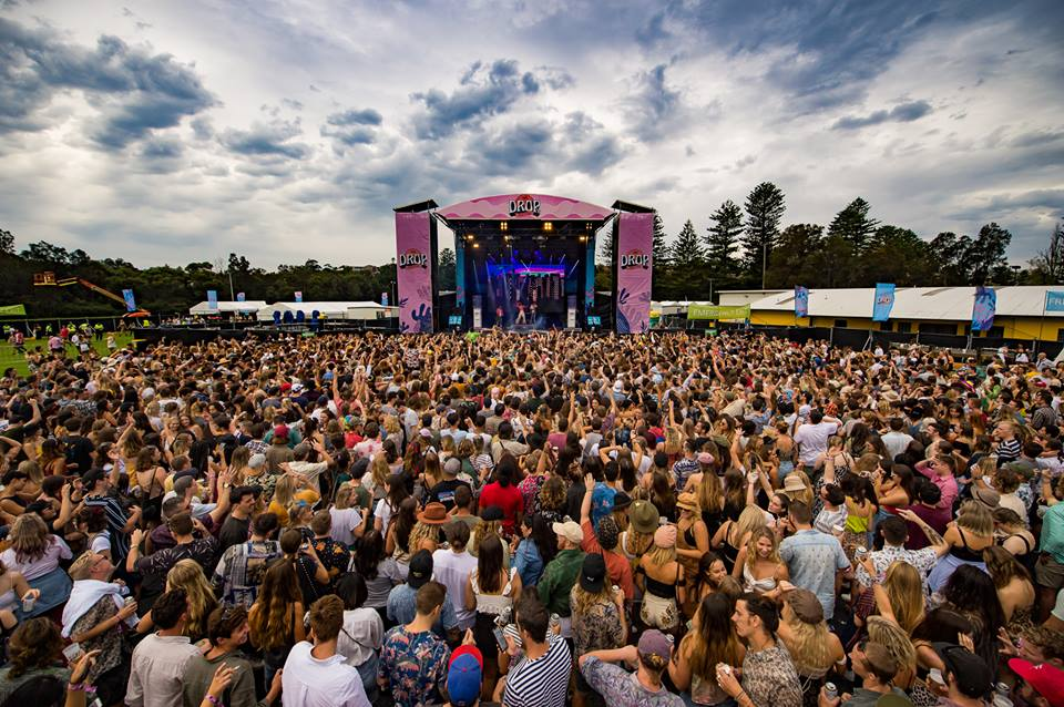 The Drop Festival 2019 in Manly, Sydney