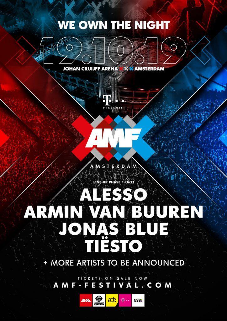 AMF Festival Lineup 2019