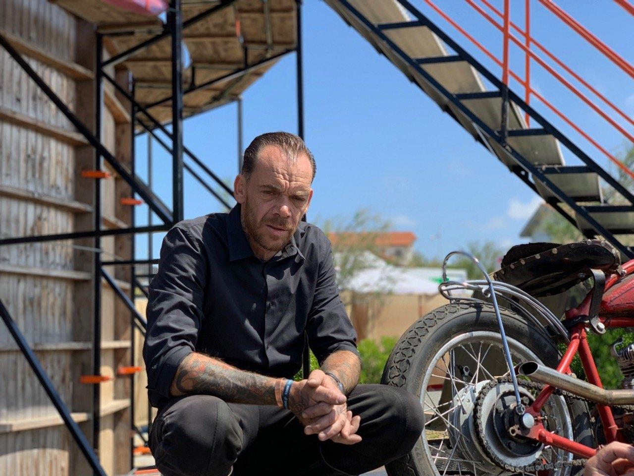 Pro Wall of Deasth rider Donald Ganslmeier