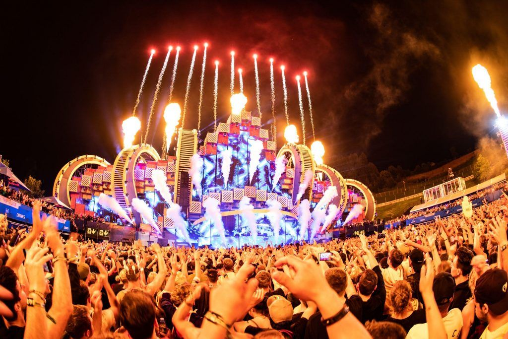 Main Stage at Electric Love Festival