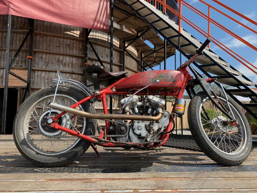 Indian Motorcycle at Wheels and Waves
