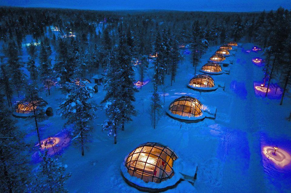 Kakslauttanen Arctic Resort in Finland