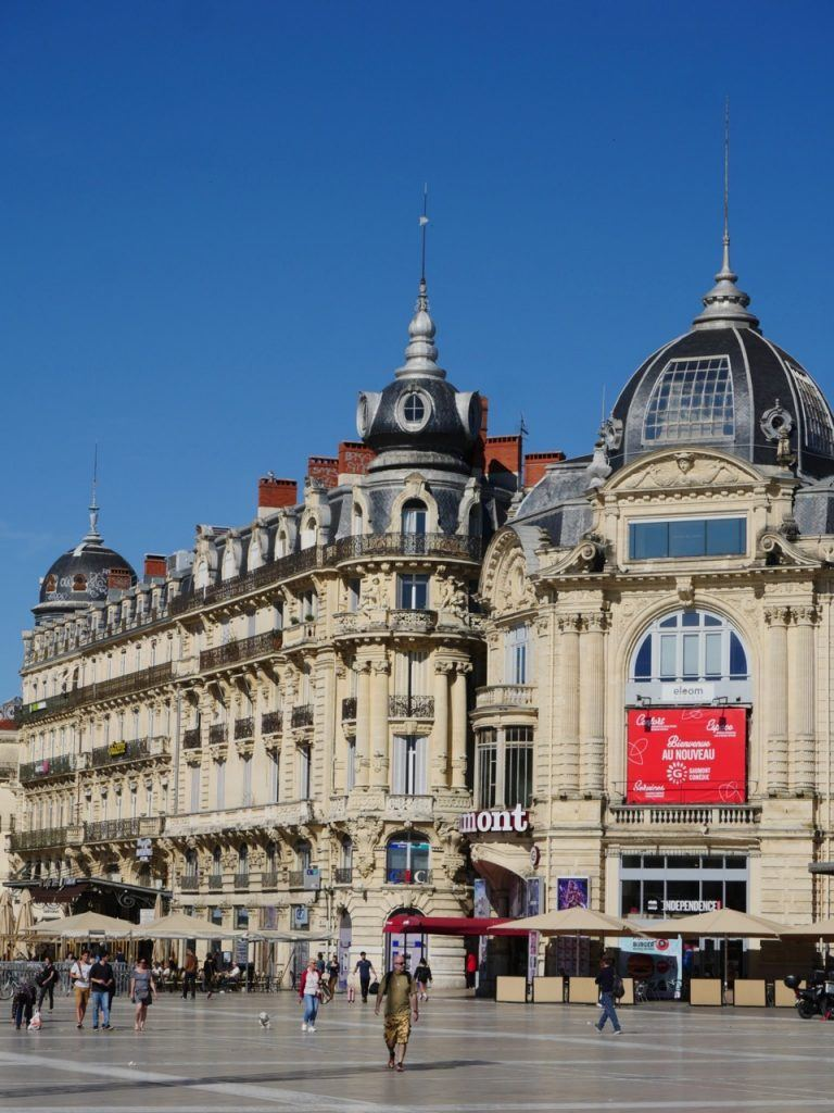 Place de la Comédie square in Montpellier