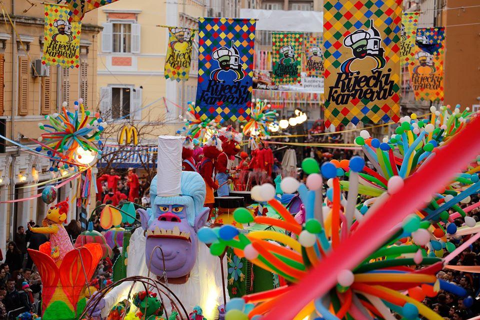 Rijeka Carnival street party