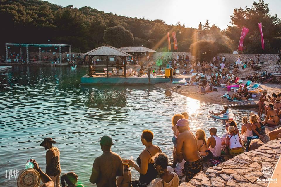 SUNcéBeat Festival in Tisno, Croatia