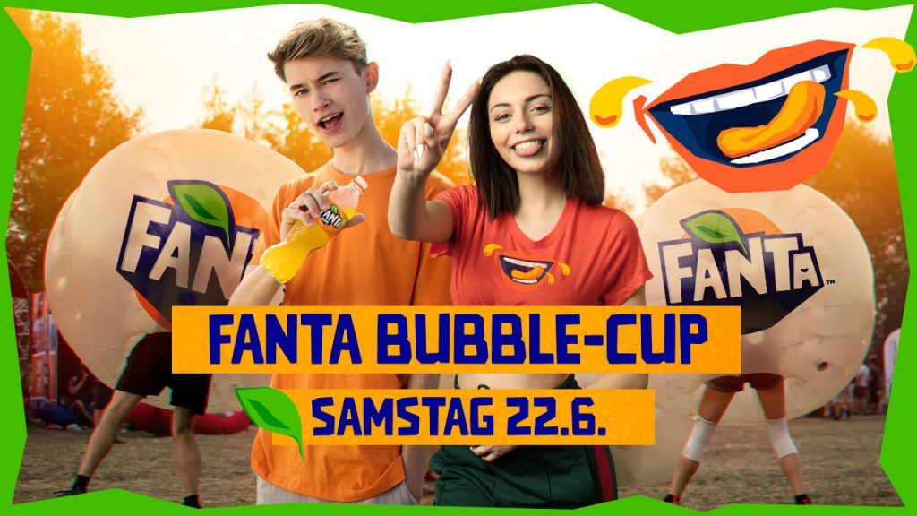 Fanta Bubble Cup at The Donauinselfest 2019