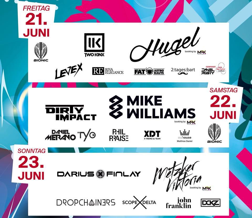 Danube Island Festival Donauinselfest Lineup 2019