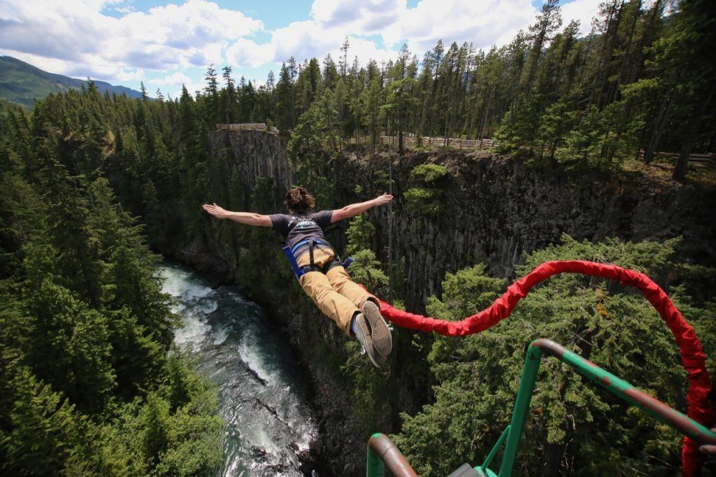 Bungee Jumping in BC