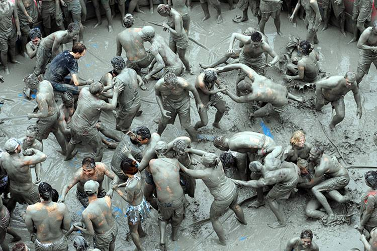 Boryeong Mud Festival 2019 in South Korea