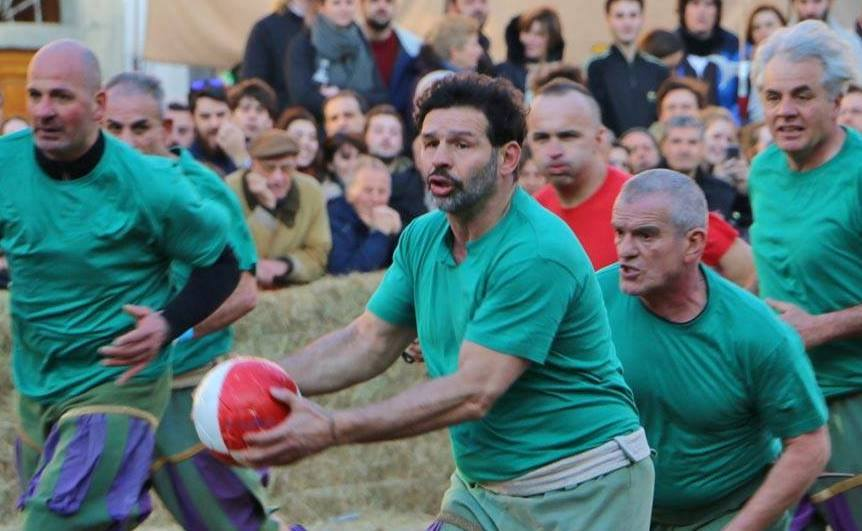 Calcio Storico Fiorenti in Florence, Italy