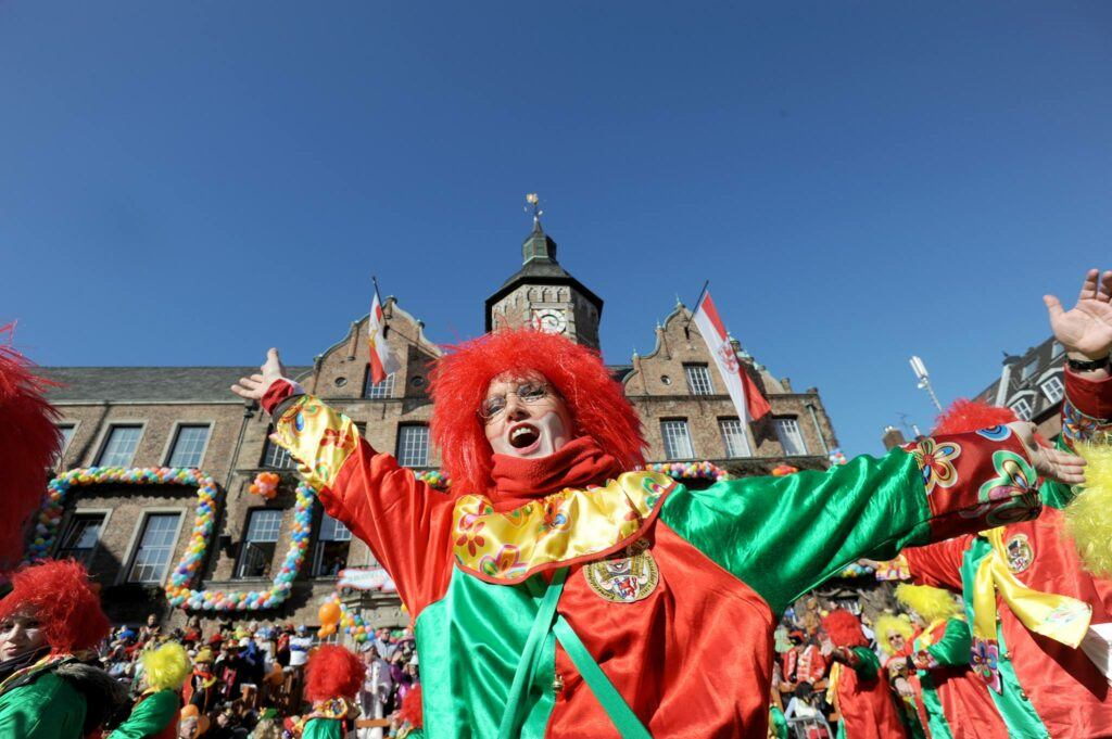 costumes at Duesseldorf Carnival