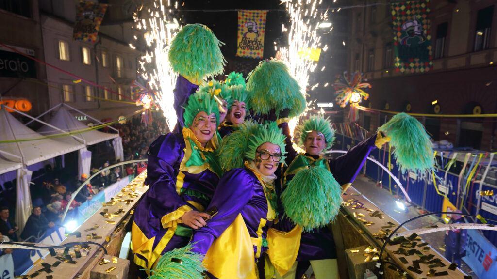 Costumes for carnival in Croatia
