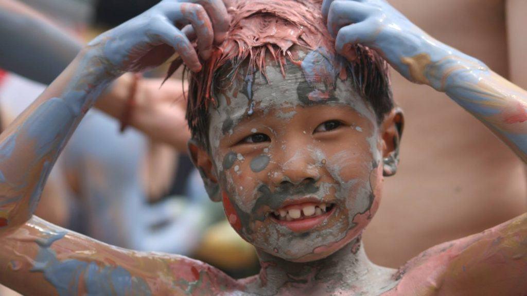 Origins of Boryeong Mud Festival in South Korea