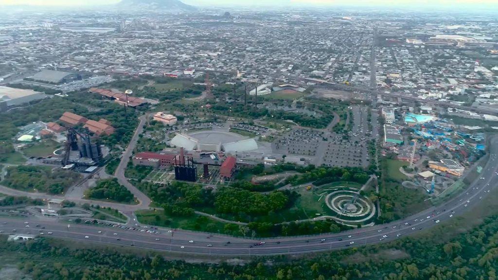 Parque Fundidora in Monterrey, Mexico