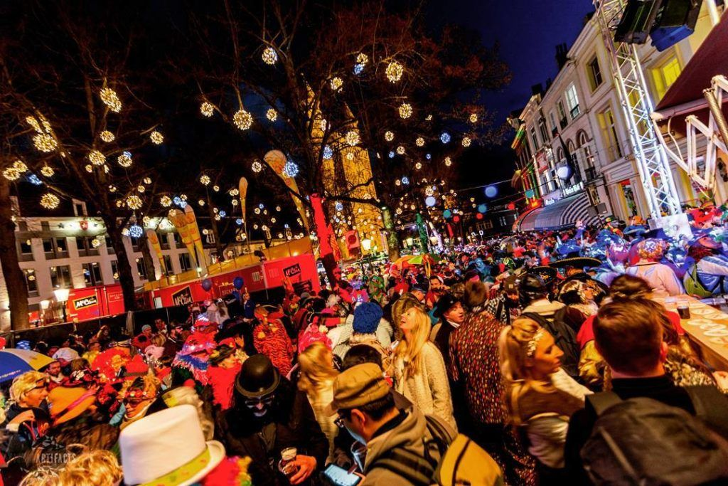 party time in Maastricht, Netherlands