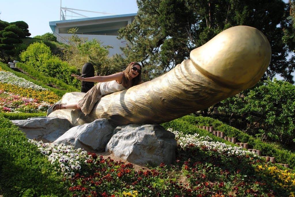 Haesindang Penis Park in Jeju Island