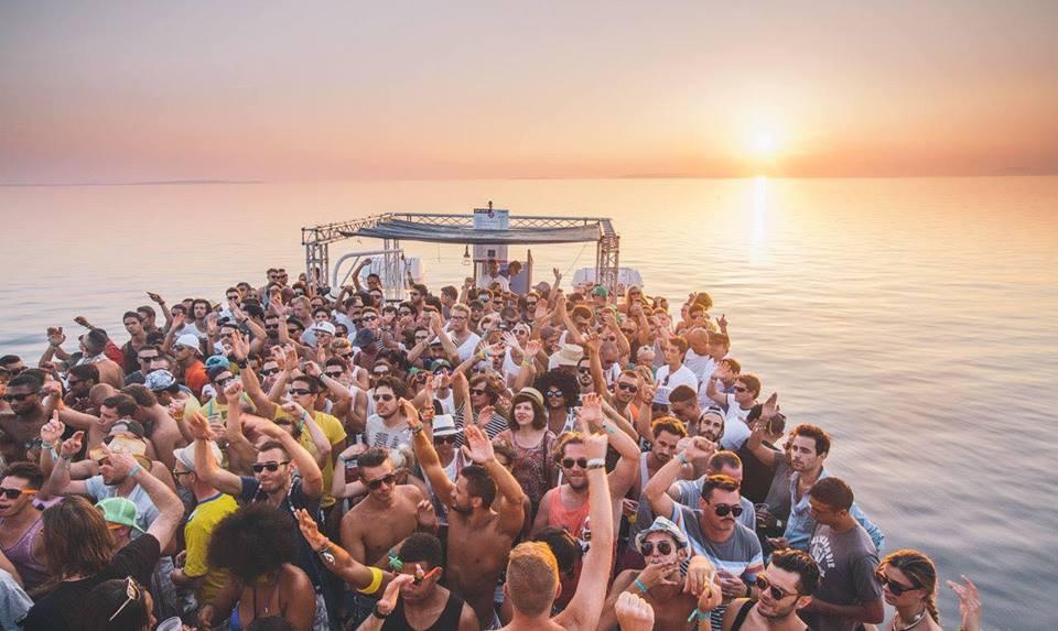 Boat Parties at Suncebeat Festival