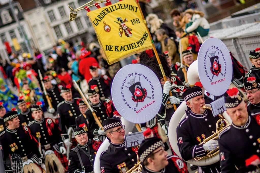 brass bands at Carnival in Maastricht
