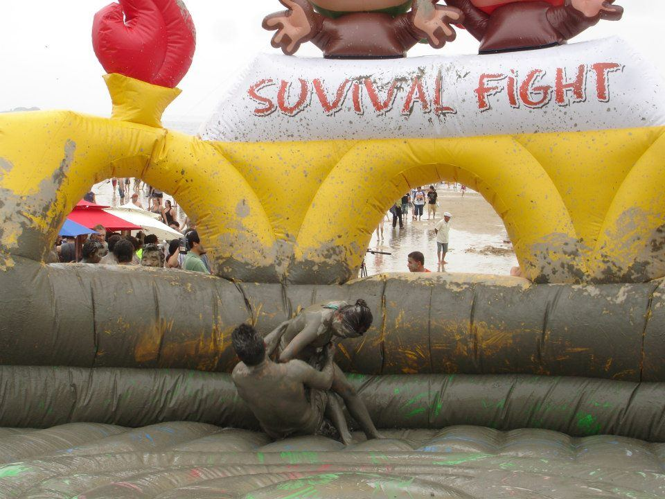 What happens at Boryeong mud festival