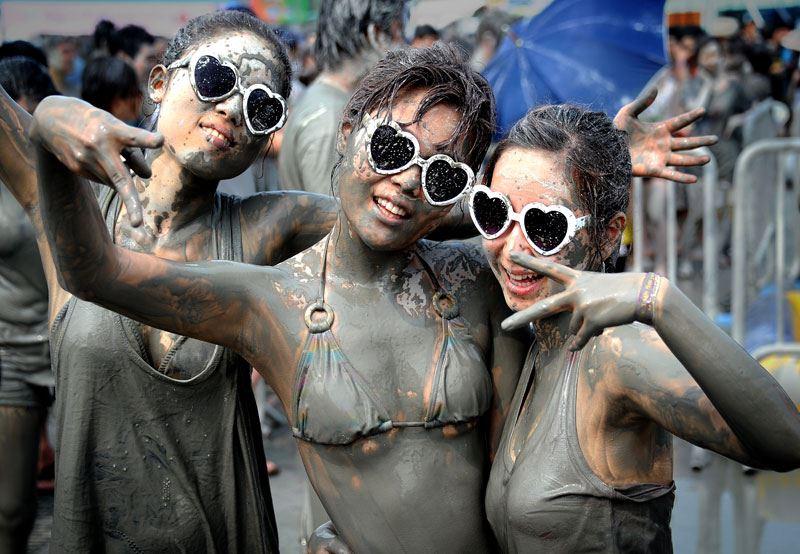 Why mud at Boryeong mud festival