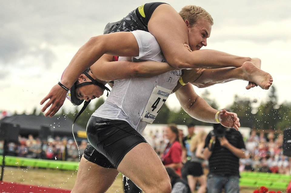 Wife Carrying Championships in Finland
