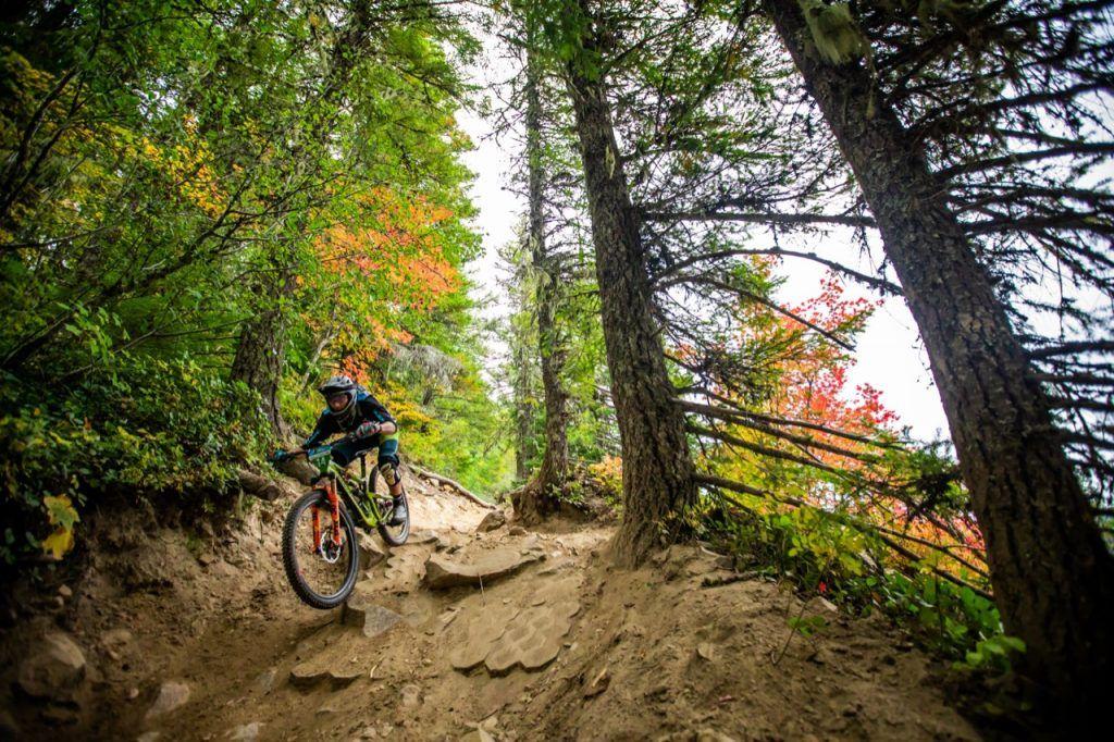 mountain biking in the Cascades