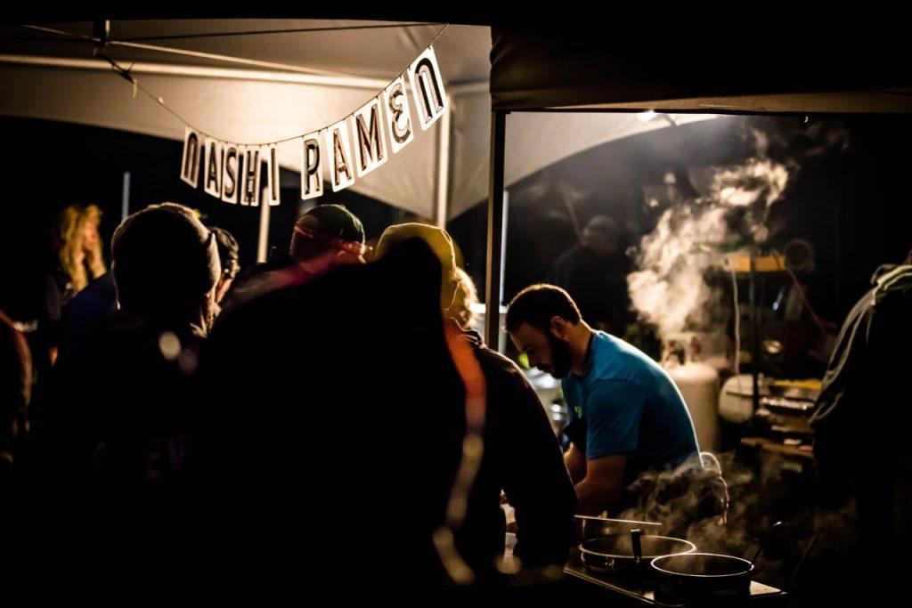 Trans Cascadia camp food