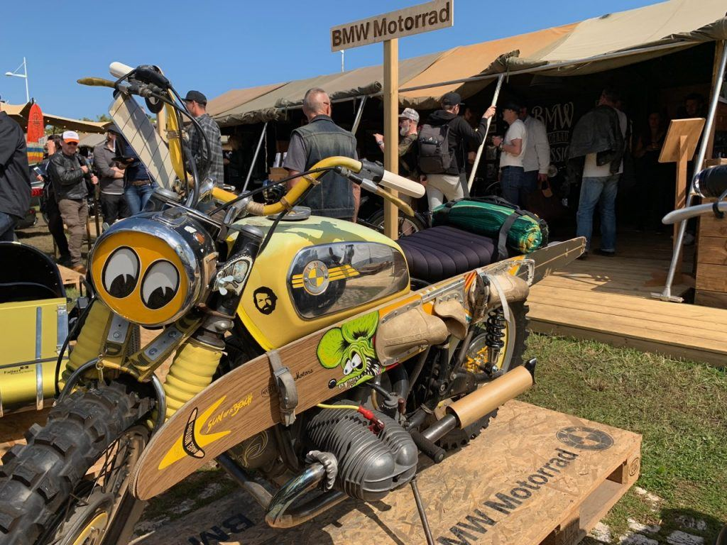 Wheels and Waves Festival village in Biarritz