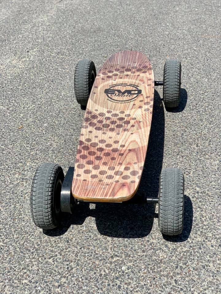 Off road electric Skateboarding