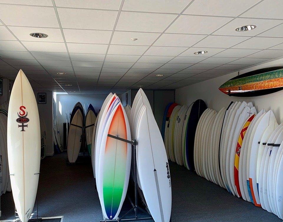 Euroglass surf shop Basque Country