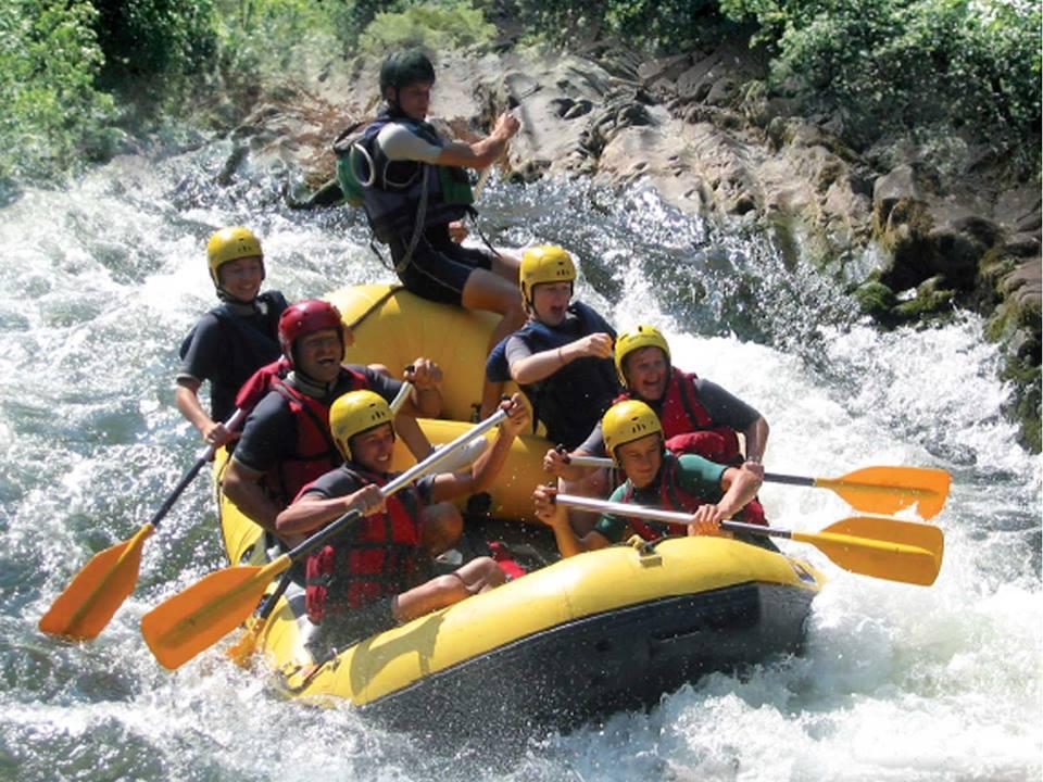 Uhina Whitewater rafting