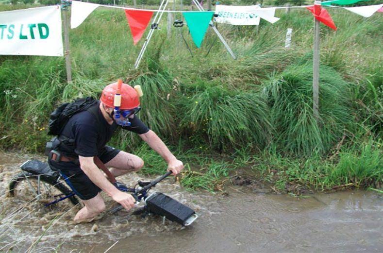 bog snorkelling competition
