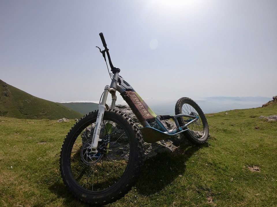 Mountain Bike Scooters in the Basque Country