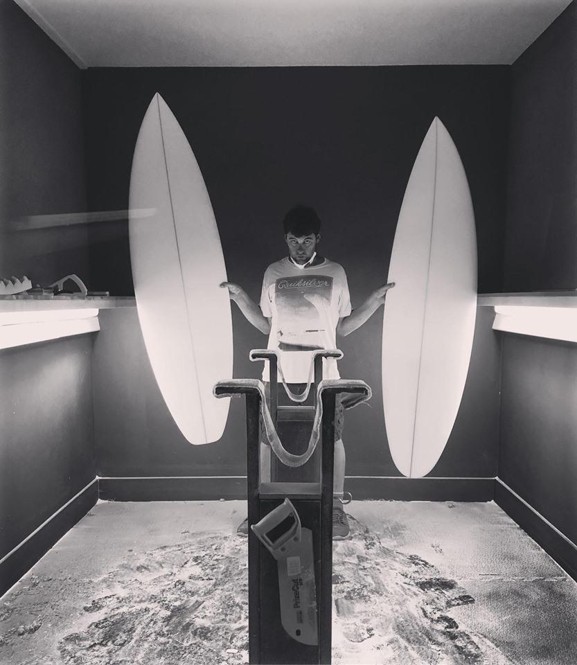 surfboard shaper Christiaan Bradley