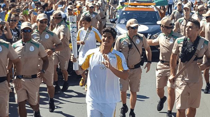 Gabriel Medina in the Olympics