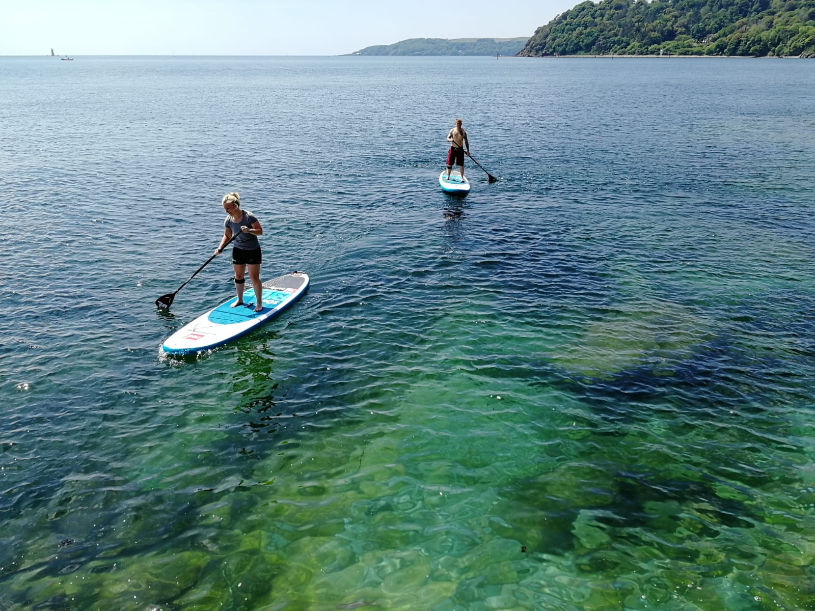 Stand Up Paddleboarding in Plymouth
