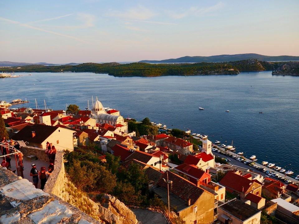 Sibenik fortress city in Croatia