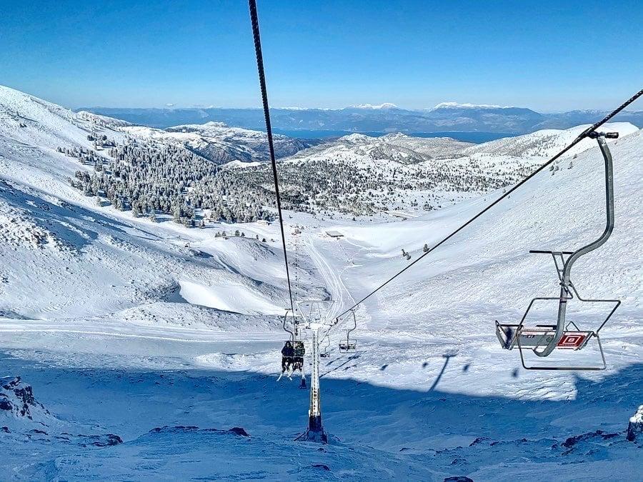 skiing in Greece at Kalavryta Ski Center