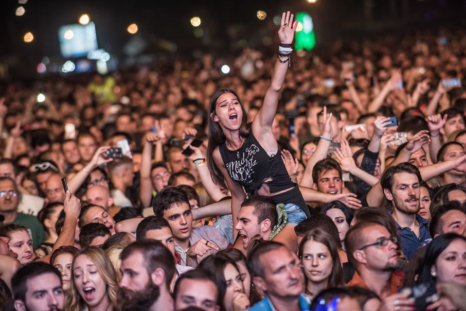 Belgrade Beer Fest free music festival in Belgrade Serbia