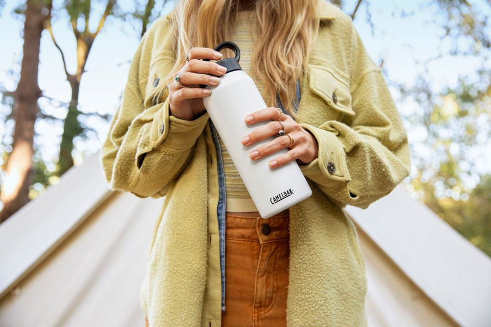 CamelBak white bottle