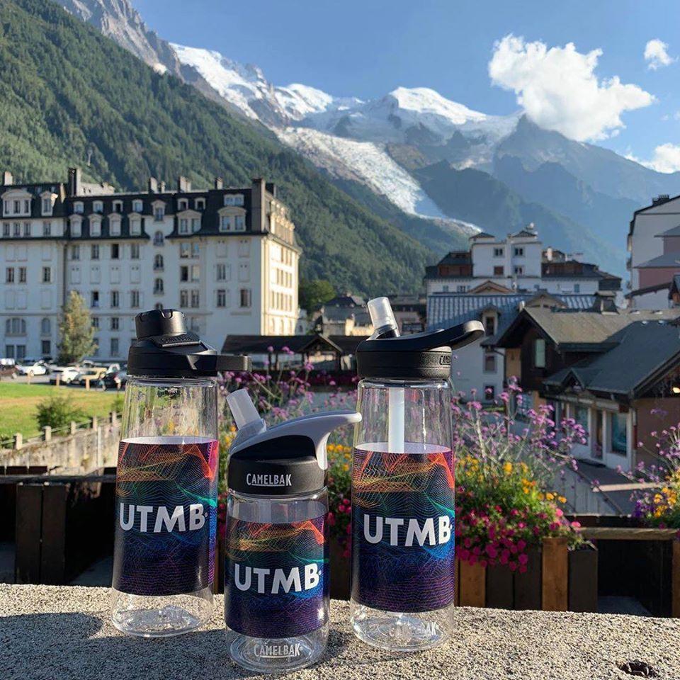 Camelbak UTMB water bottles