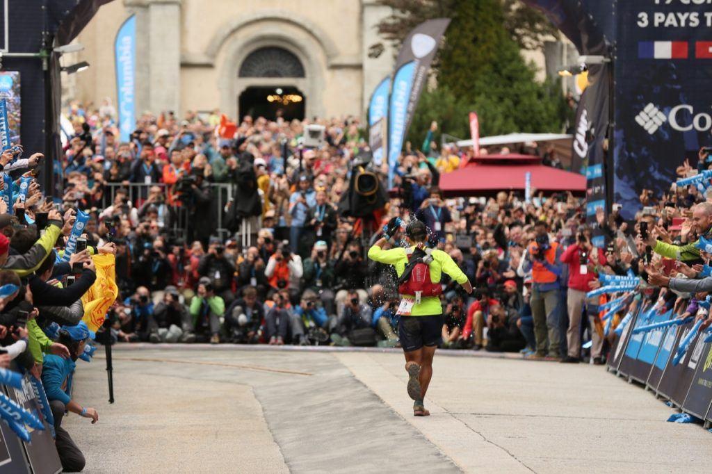 Xavier Thevenard ultra runner at UTMB