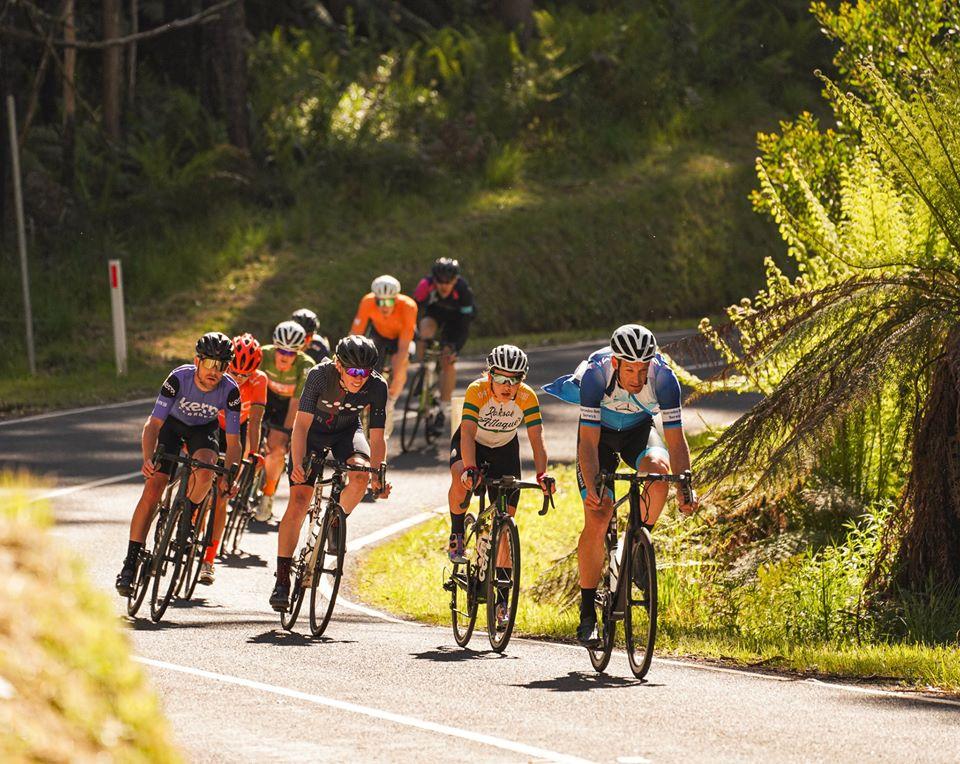 Giro Della Donna cycle race in Warburton, Australia